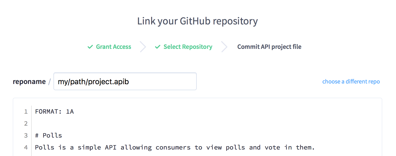GitHub Integration - change filename